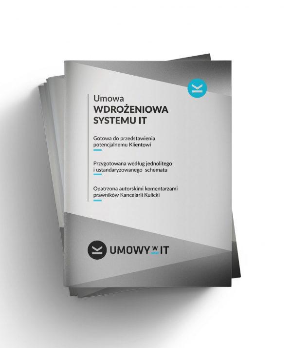 Umowa wdrożeniowa systemu IT