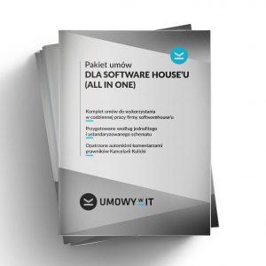 Pakiet szablonów umów dla software house'u/firmy IT