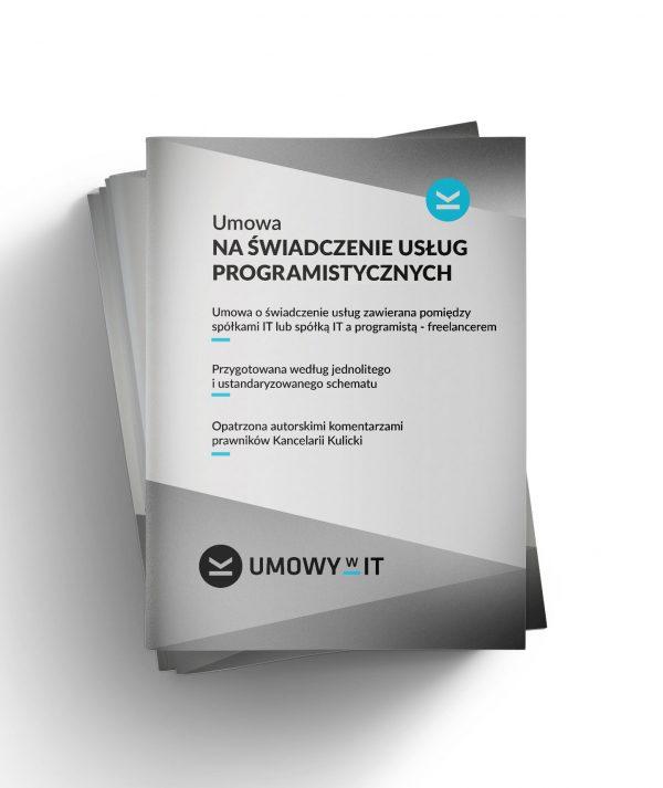 Umowa na świadczenie usług programistycznych