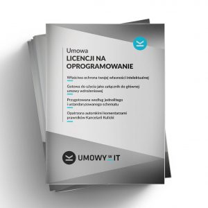 Umowa licencji na oprogramowanie